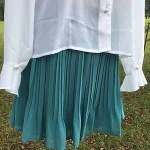 Pleated Candie's Skirt